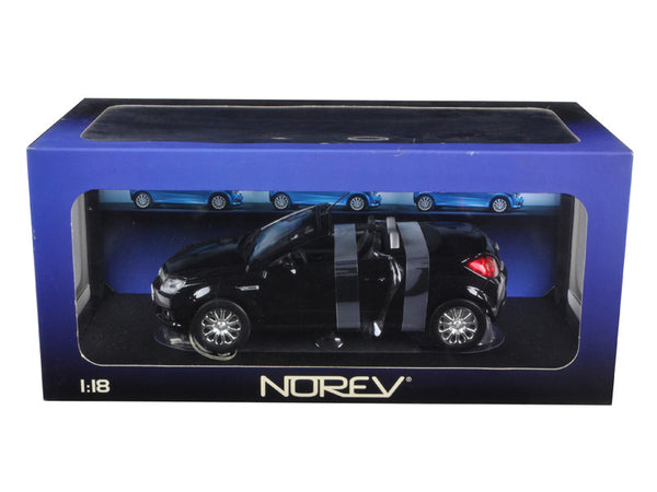 Opel Tigra Twin Top Convertible Black 1/18 Diecast Model Car by Norev
