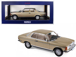 1980 Mercedes Benz 280 CE Champagne Metallic 1/18 Diecast Model Car by Norev