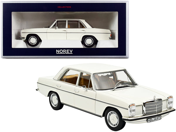 1968 Mercedes Benz 200 White 1/18 Diecast Model Car by Norev