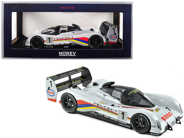 Peugeot 905 #1 Dalmas / Warwick / Blundell Winners 24 Hours of Le Mans France 1992 1/18 Diecast Model Car by Norev