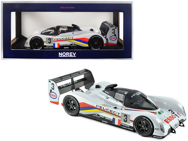 Peugeot 905 #3 Bouchut / Helary / Brabham Winners 24 Hours of Le Mans France 1993 1/18 Diecast Model Car by Norev
