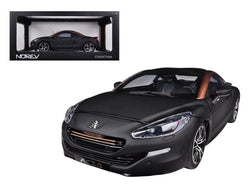 2012 Peugeot RCZ R Black/Gold 1/18 Diecast Model Car by Norev