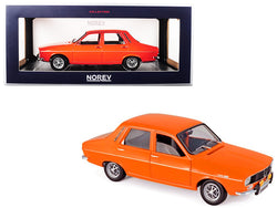 1973 Renault 12 TS Bright Orange with Silver Stripes 1/18 Diecast Model Car by Norev