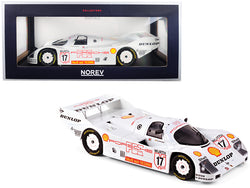 "Porsche 962 C #17 Hans-Joachim Stuck ""Shell"" Winner Supercup Nurburgring (1987) 1/18 Diecast Model Car by Norev"