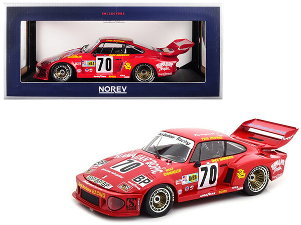 "Porsche 935 #70 Paul Newman/ Dick Barbour/ Rolf Stommelen \Hawaiian Tropic"" 2nd Place Le Mans France 24 Hours (1979) 1/18 Diecast Model Car by Norev"""