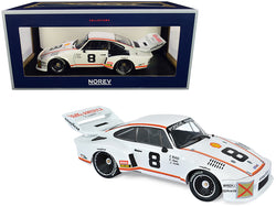 "Porsche 935 #8 R. Joest/ B. Wollek/ A. Krebs Daytona 24H (1977) ""Kremer Racing"" 1/18 Diecast Model Car by Norev"
