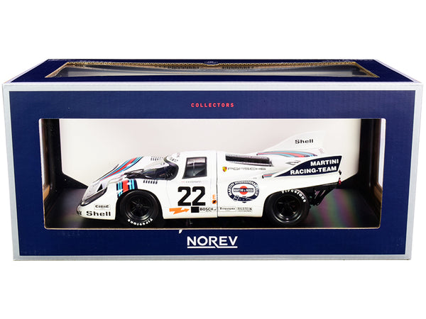 Porsche 917K #22 Helmut Marko - Gijs van Lennep Winner 24 Hours of Le Mans (1971) 1/18 Diecast Model Car by Norev