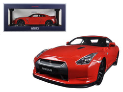 2008 Nissan GTR R-35 Red 1/18 Diecast Model Car by Norev