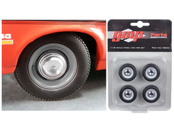 1970 Yenko Nova Dog Dish Wheel and Tire (Set of 4) 1/18 Diecast by GMP