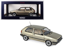 1988 Volkswagen Golf CL Metallic Beige 1/18 Diecast Model Car by Norev