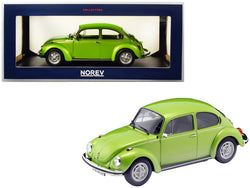 1973 Volkswagen Beetle 1303 Metallic Green 1/18 Diecast Model Car by Norev