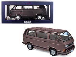 1990 Volkswagen Multivan Bus Bronze Metallic 1/18 Diecast Model by Norev