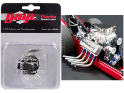 "Engine and Transmission Pack Replica from Tommy Ivo's ""Barnstormer"" Vintage Dragster 1/18 Model by GMP"