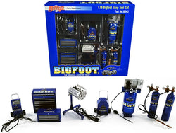 "Garage Shop Tool Set (7 Piece Set) ""Bigfoot #1 The Original Monster Truck"" 1/18 Diecast Replica by GMP"
