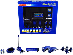 """Shop Tool Set"" ""Bigfoot #1 The Original Monster Truck"" (6 Piece Set) 1/18 Diecast Replica by GMP"