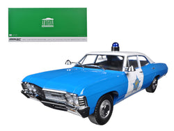 1967 Chevrolet Biscayne City of Chicago Police Department (CPD) 1/18 Diecast Model Car by Greenlight