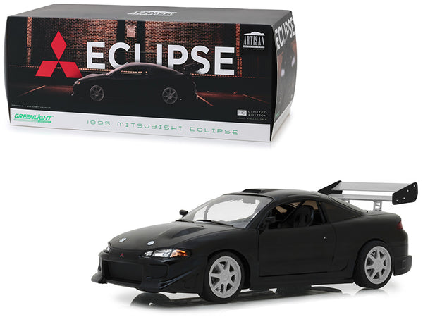 1995 Mitsubishi Eclipse Black 1/18 Diecast Model Car  by Greenlight
