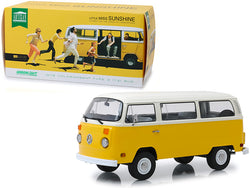 "1978 Volkswagen Type 2 (T2) Bus Yellow with White Top ""Little Miss Sunshine"" (2006) Movie 1/18 Diecast Model by Greenlight"