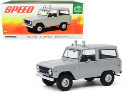 "1970 Ford Bronco Gray (Jack Traven's) ""Speed"" (1994) Movie 1/18 Diecast Model by Greenlight"