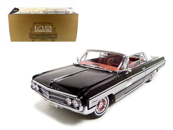 1962 Oldsmobile Starfire Black 1/18 Diecast Model Car by Road Signature