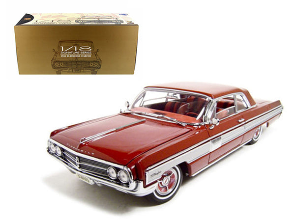 1962 Oldsmobile Starfire Garnet/Red 1/18 Diecast Model Car by Road Signature