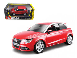 Audi A1 Red 1/24 Diecast Model Car by Bburago