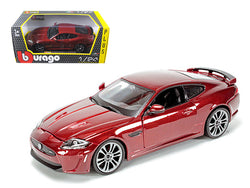 Jaguar XKR-S Burgundy 1/24 Diecast Model Car by Bburago