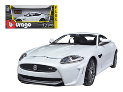 Jaguar XKR-S White 1/24 Diecast Model Car by Bburago