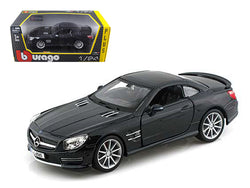 Mercedes SL 65 AMG Coupe Black 1/24 Diecast Model Car by Bburago