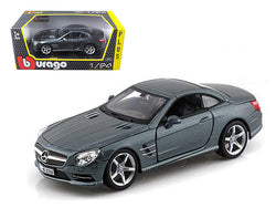 Mercedes SL 500 Coupe Grey 1/24 Diecast Model Car by Bburago