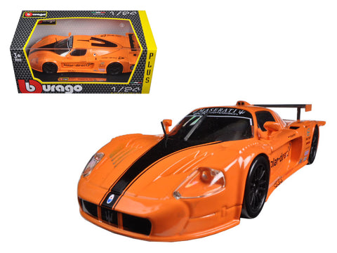 Maserati MC 12 Orange 1/24 Diecast Model Car by Bburago