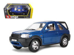 Land Rover Freelander Blue 1/24 Diecast Model by Bburago