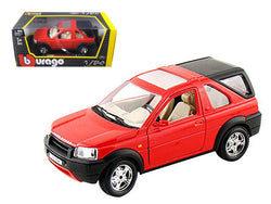 Land Rover Freelander Red 1/24 Diecast Model by Bburago