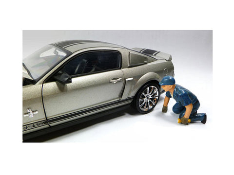 Tow Truck Driver Operator Scott Figure For 1:18 Diecast Models by American Diorama