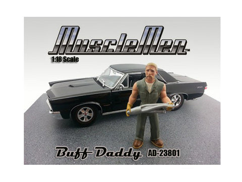 Musclemen Buff Daddy Figure for 1:18 Diecast Models by American Diorama