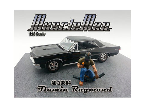 Musclemen Flamin Raymond Figure for 1:18 Diecast Models by American Diorama