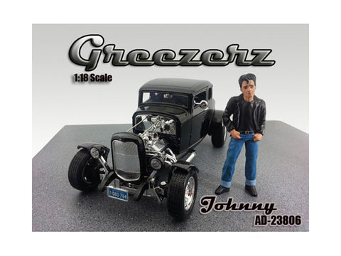 Greezerz Johnny Figure For 1:18 Diecast Models by American Diorama