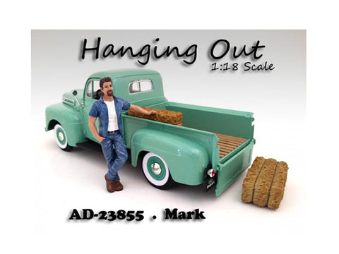 """Hanging Out"" Mark Figure For 1:18 Scale Diecast Models by American Diorama"