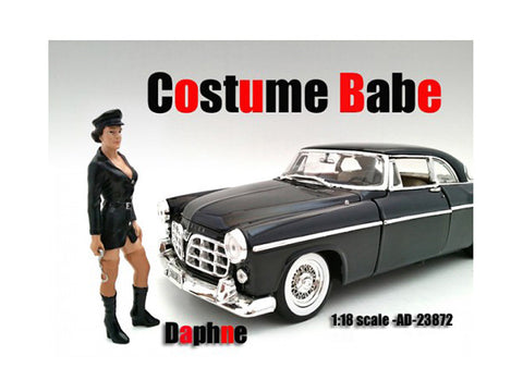 Costume Babe Daphne Figure For 1:18 Diecast Models by American Diorama