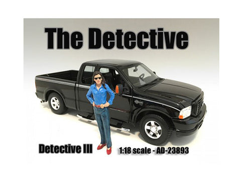 """The Detective"" #3 Figure For 1:18 Scale Diecast Models by American Diorama"