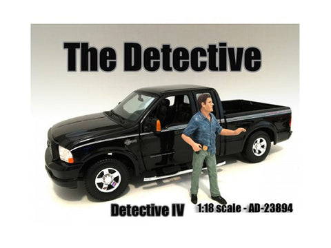 """The Detective"" #4 Figure For 1:18 Scale Diecast Models by American Diorama"