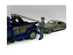 Tow Truck Driver/Operator Bill Figure for 1/24 Scale Models by American Diorama