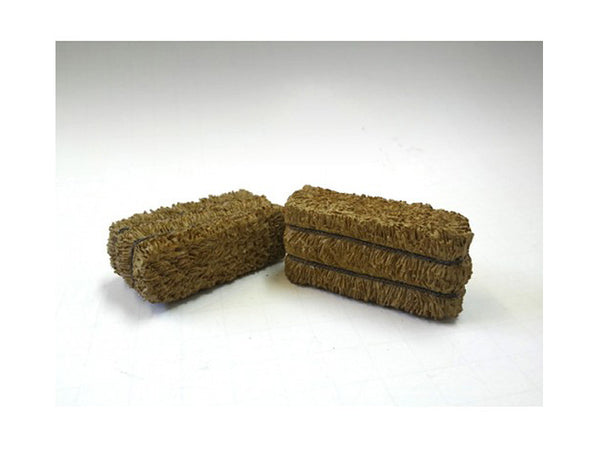 Hay Bale Accessory 2 Pieces Set for 1:18 Diecast Models by American Diorama