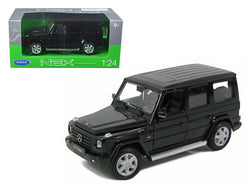 Mercedes Benz G Class Wagon Black 1/24 Diecast Model Car by Welly