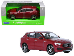 Maserati Levante Red 1/24 - 1/27 Diecast Model Car by Welly