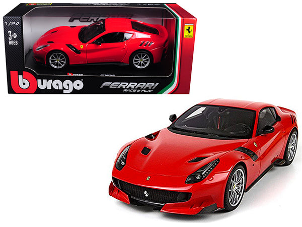Ferrari F12 TDF Red 1/24 Diecast Model Car by Bburago