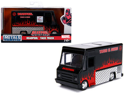 "Deadpool Taco Truck Black ""Marvel"" Series 1/32 Diecast Model by Jada"