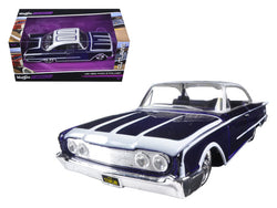 "1960 Ford Starliner Purple ""Outlaws"" 1/26 Diecast Model Car by Maisto"