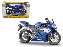 2004 Yamaha YZF-R1 Blue Bike 1/12 Diecast Motorcycle Model by Maisto