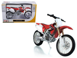 Honda CRF 450R White/Red 1/12 Diecast Motorcycle Model by Maisto